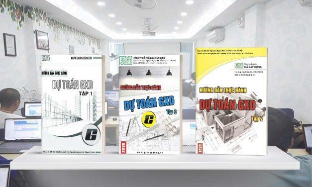 Tải tập 3 Các bài tập thực hành Lập Dự toán công trình sử dụng Dự toán GXD