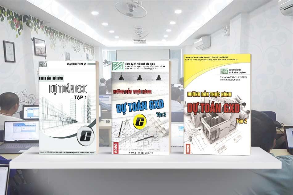 Tập 3 Các bài tập thực hành Lập Dự toán công trình sử dụng Dự toán GXD