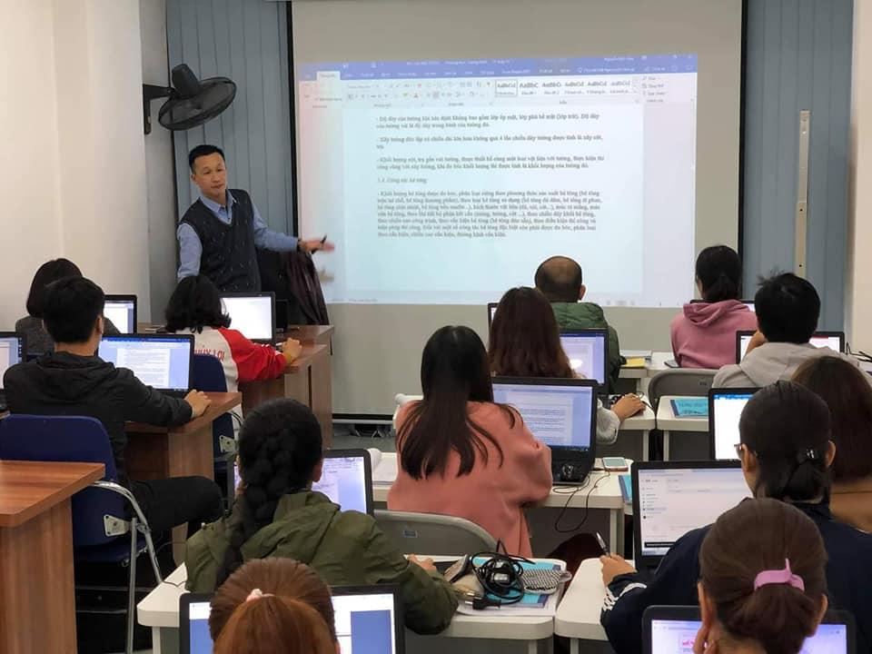 Lớp học dự toán tại Hà Nội và Hồ Chí Minh uy tín và mới nhất