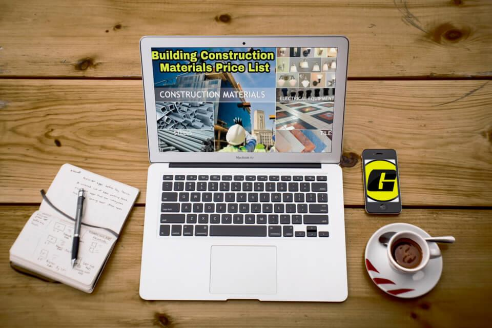 Cách tải công bố giá vật liệu địa phương mới nhất về phần mềm dự toán